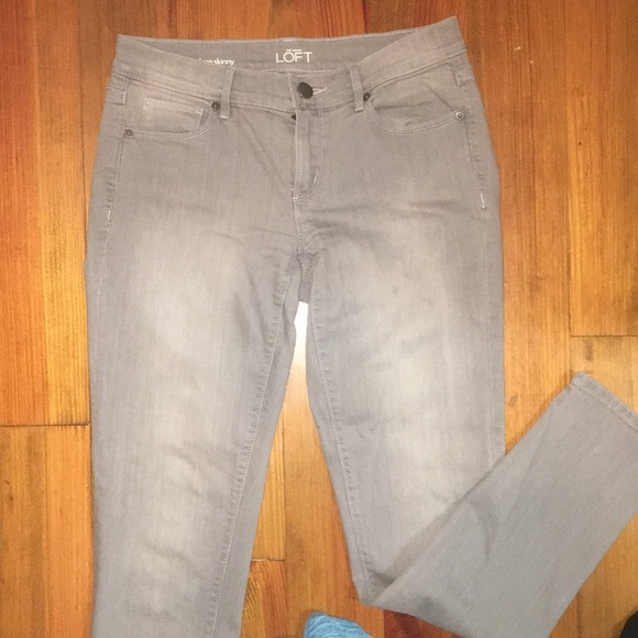Ann Taylor Loft Skinny Modern Jeans